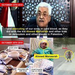 Mahmoud Abbas pofázik a fiúról