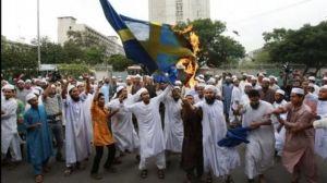 Svédország, menekültek