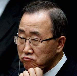 Ban Ki-mun hátsószándékai