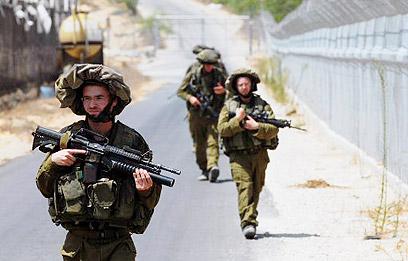 IDF - katonák Gáza utcáin