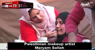 Pallywood bemutatja: kulisszák mögött Gáza legjobb propagandasminkesével